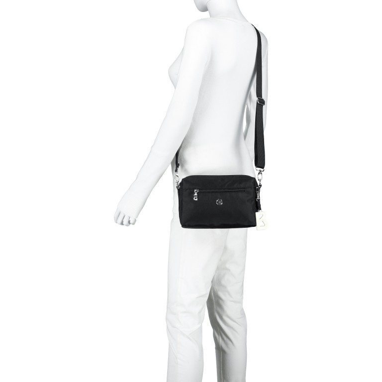 Umhängetasche Verbier Pukie Black, Farbe: schwarz, Marke: Bogner, EAN: 4053533739714, Abmessungen in cm: 22.0x15.0x4.0, Bild 5 von 6