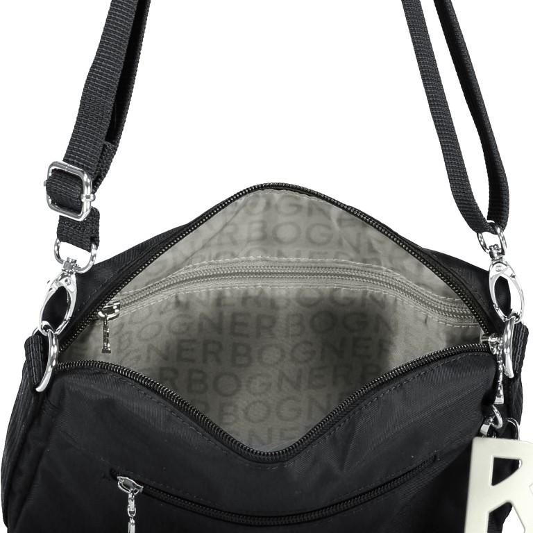 Umhängetasche Verbier Pukie Black, Farbe: schwarz, Marke: Bogner, EAN: 4053533739714, Abmessungen in cm: 22.0x15.0x4.0, Bild 6 von 6