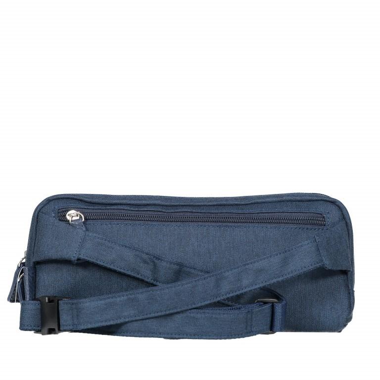 Umhängetasche Bergen Crossover Bag Navy, Farbe: blau/petrol, Marke: Jost, EAN: 4025307733570, Abmessungen in cm: 28.0x130x2.5, Bild 8 von 9