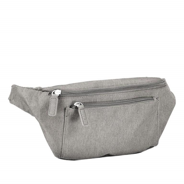 Gürteltasche Bergen Light Grey, Farbe: grau, Marke: Jost, EAN: 4025307753936, Abmessungen in cm: 28.0x15.0x6.0, Bild 2 von 6