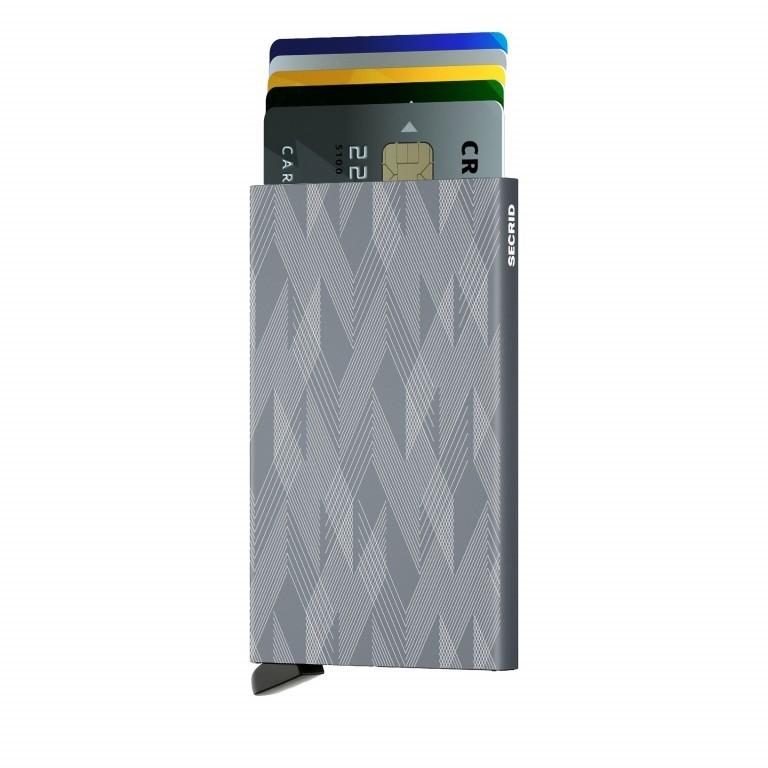 Kartenetui Cardprotector Laser Zigzag Titanium, Farbe: grau, Marke: Secrid, EAN: 8718215286547, Abmessungen in cm: 6.3x10.2x0.8, Bild 3 von 4