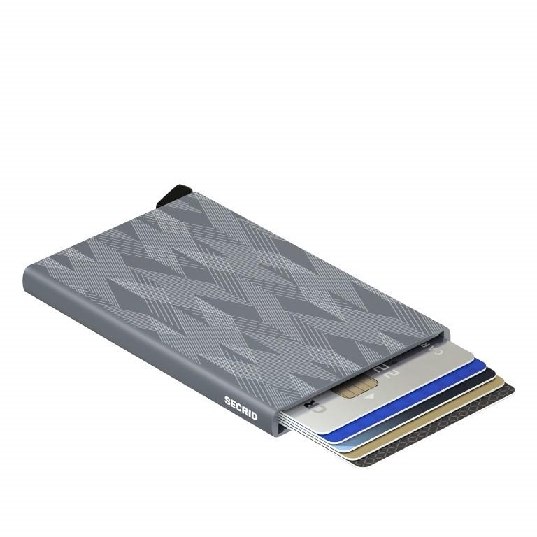 Kartenetui Cardprotector Laser Zigzag Titanium, Farbe: grau, Marke: Secrid, EAN: 8718215286547, Abmessungen in cm: 6.3x10.2x0.8, Bild 4 von 4