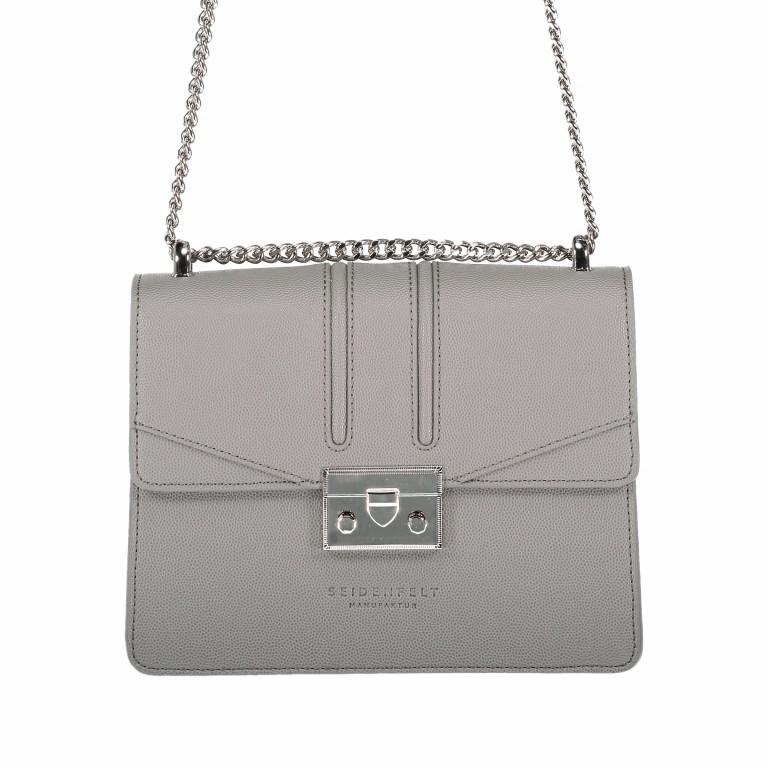 Umhängetasche Roros Grey Silver, Farbe: grau, Marke: Seidenfelt, EAN: 4251634219368, Abmessungen in cm: 21.0x16.5x6.5, Bild 1 von 5