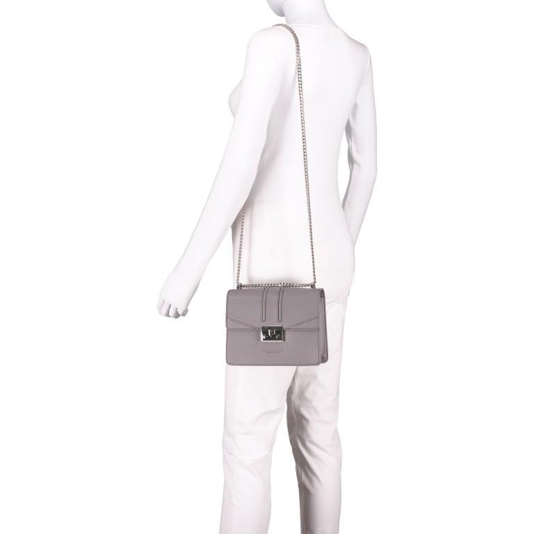 Umhängetasche Roros Grey Silver, Farbe: grau, Marke: Seidenfelt, EAN: 4251634219368, Abmessungen in cm: 21.0x16.5x6.5, Bild 4 von 5