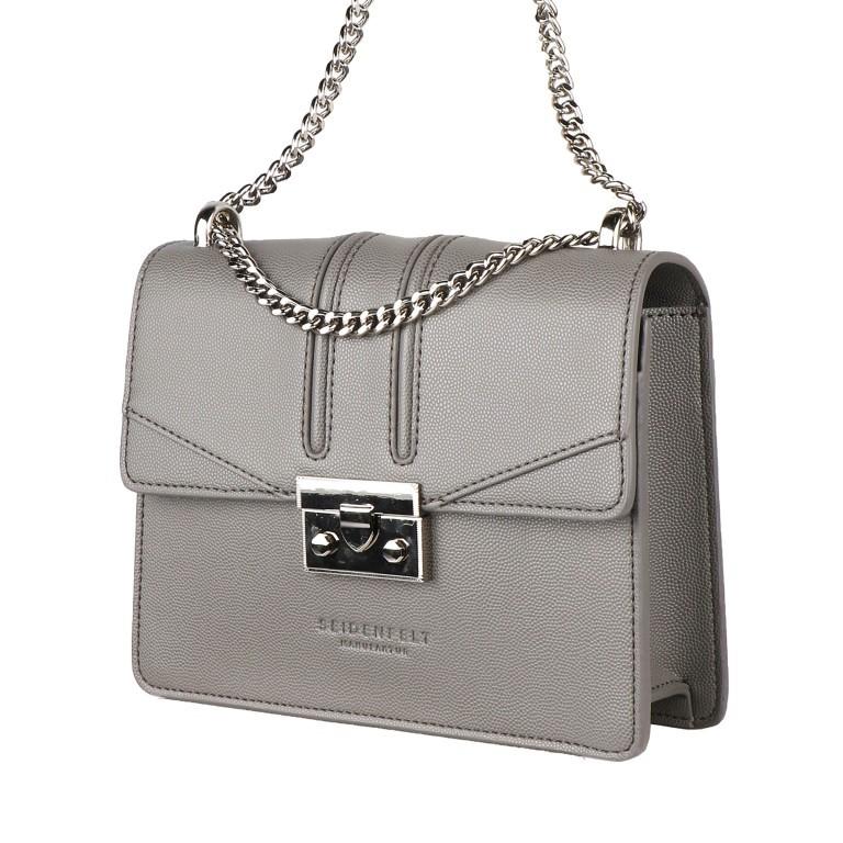 Umhängetasche Roros Black Silver, Farbe: schwarz, Marke: Seidenfelt, EAN: 4251634219283, Abmessungen in cm: 21.0x16.5x6.5, Bild 2 von 5