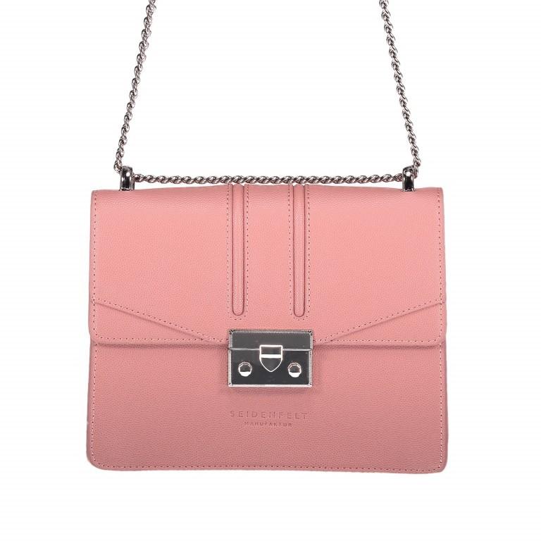 Umhängetasche Roros Blush Silver, Farbe: rosa/pink, Marke: Seidenfelt, EAN: 4251634219313, Abmessungen in cm: 21.0x16.5x6.5, Bild 1 von 5