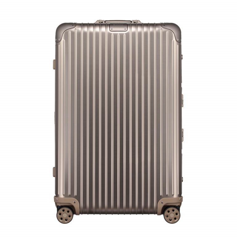 Rimowa Original Check-In L Titanium, Farbe: metallic, Marke: Rimowa, EAN: 4003743024377, Abmessungen in cm: 51.0x79.0x27.5, Bild 1 von 8