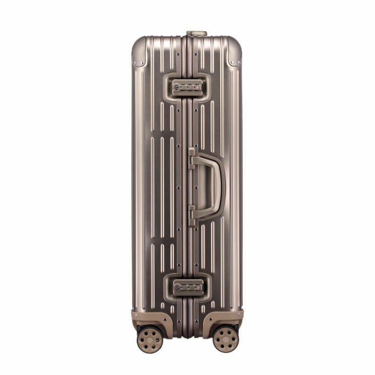 Rimowa Original Check-In L Titanium, Farbe: metallic, Marke: Rimowa, EAN: 4003743024377, Abmessungen in cm: 51.0x79.0x27.5, Bild 2 von 8