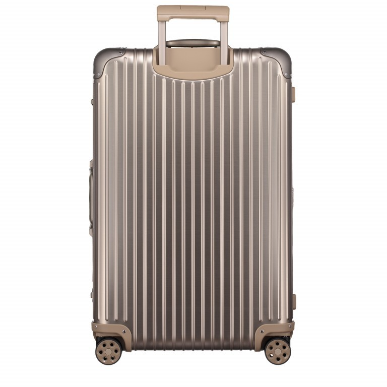 Rimowa Original Check-In L Titanium, Farbe: metallic, Marke: Rimowa, EAN: 4003743024377, Abmessungen in cm: 51.0x79.0x27.5, Bild 5 von 8