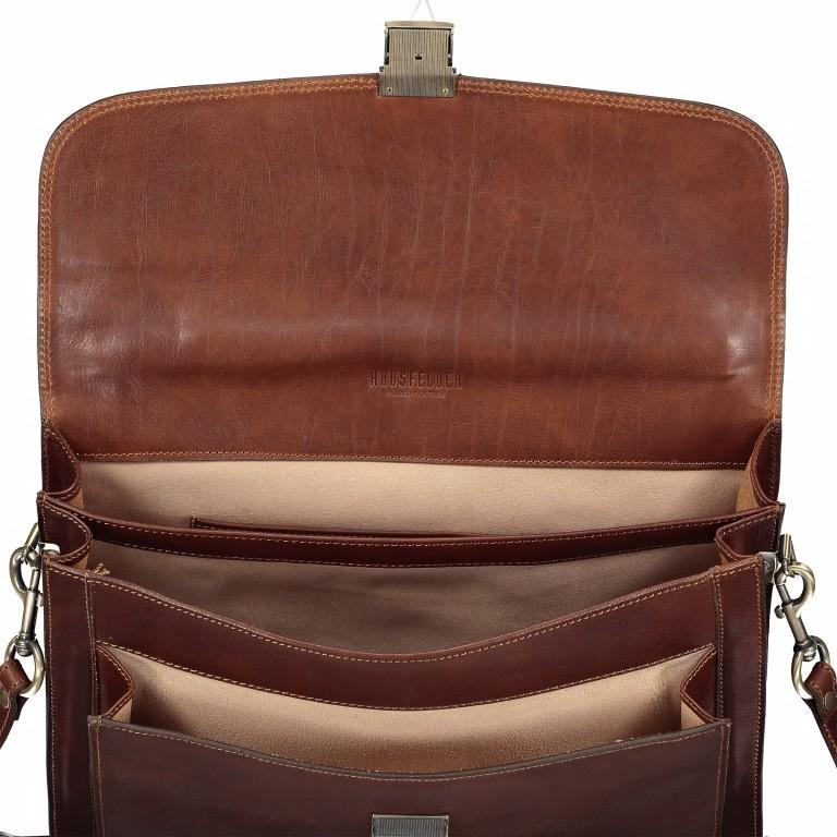 Aktentasche Braun, Farbe: braun, Marke: Hausfelder, EAN: 4065646000353, Abmessungen in cm: 41.0x30.0x8.0, Bild 7 von 8