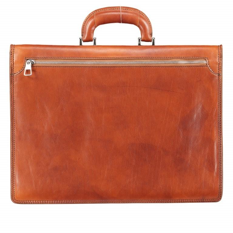 Aktentasche Braun, Farbe: braun, Marke: Hausfelder, EAN: 4065646000377, Abmessungen in cm: 40.0x30.0x8.0, Bild 3 von 9