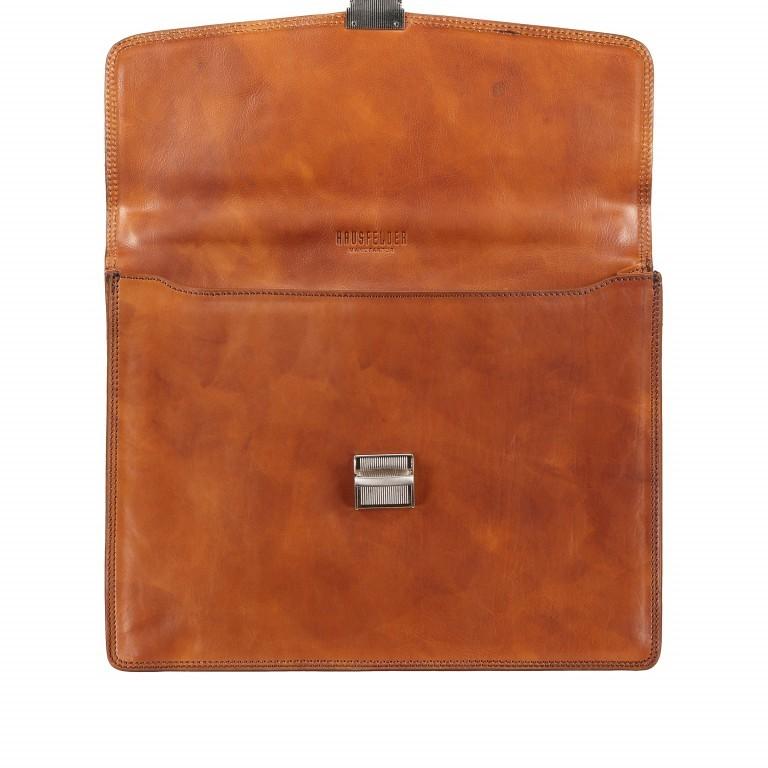 Aktentasche Braun, Farbe: braun, Marke: Hausfelder, EAN: 4065646000377, Abmessungen in cm: 40.0x30.0x8.0, Bild 7 von 9
