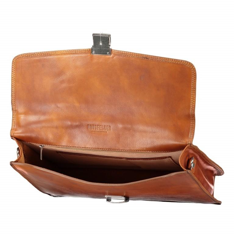 Aktentasche Braun, Farbe: braun, Marke: Hausfelder, EAN: 4065646000377, Abmessungen in cm: 40.0x30.0x8.0, Bild 8 von 9