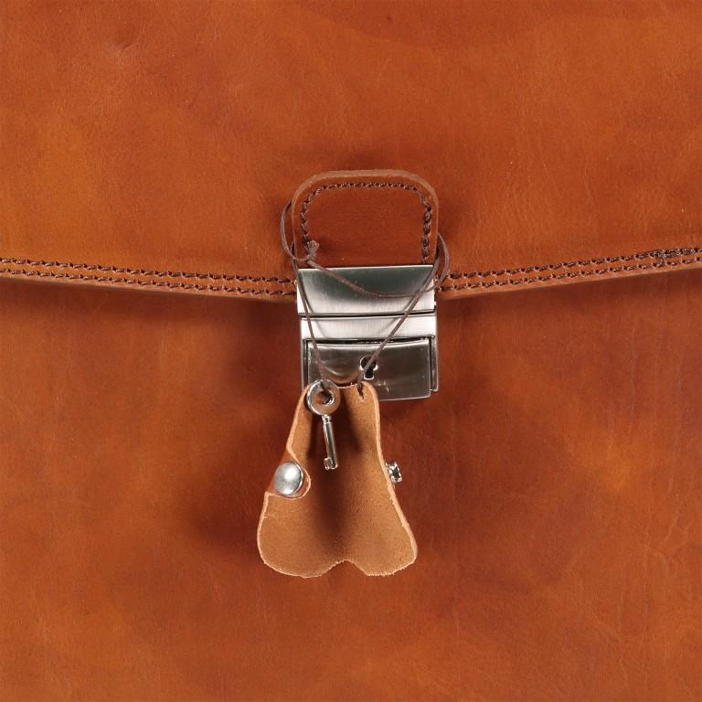 Aktentasche Braun, Farbe: braun, Marke: Hausfelder, EAN: 4065646000377, Abmessungen in cm: 40.0x30.0x8.0, Bild 9 von 9