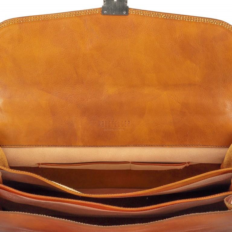 Aktentasche Braun, Farbe: braun, Marke: Hausfelder, EAN: 4065646000391, Abmessungen in cm: 41.0x30.0x15.0, Bild 7 von 8