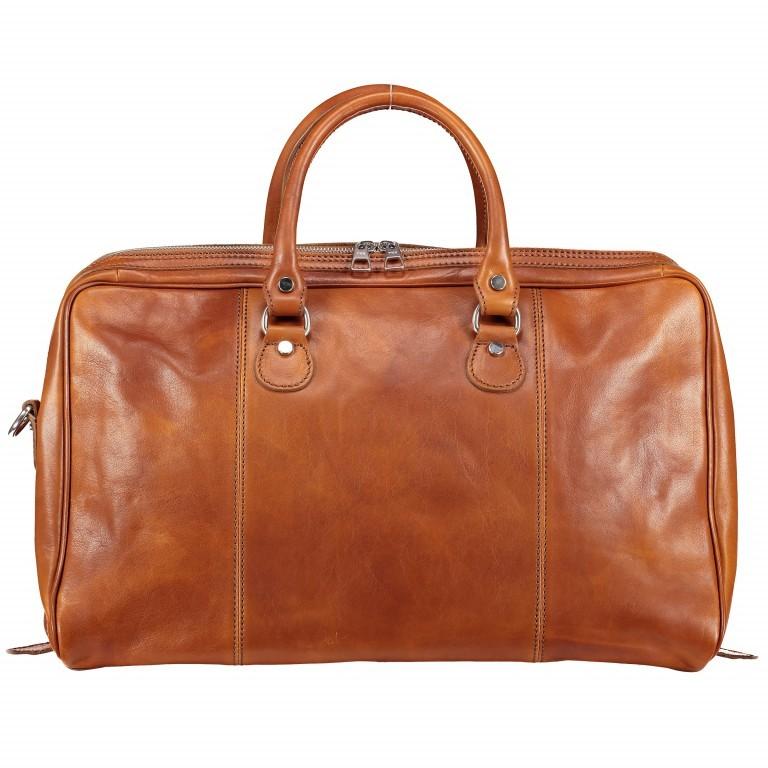 Reisetasche Größe XS Cognac, Farbe: cognac, Marke: Hausfelder, EAN: 4065646000650, Bild 1 von 7