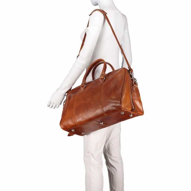 Reisetasche Größe XS Cognac, Farbe: cognac, Marke: Hausfelder, EAN: 4065646000650, Bild 4 von 7
