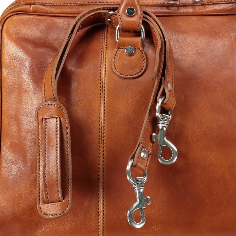Reisetasche Größe XS Cognac, Farbe: cognac, Marke: Hausfelder, EAN: 4065646000650, Bild 7 von 7