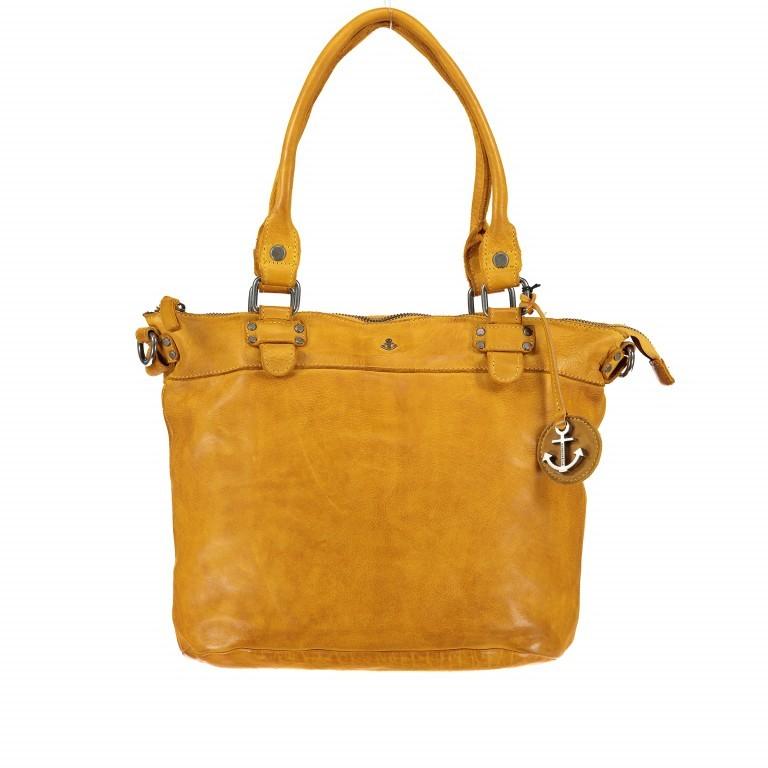 Shopper Anchor-Love Bianca B3.5938 Oriental Mustard, Farbe: gelb, Marke: Harbour 2nd, EAN: 4046478036055, Abmessungen in cm: 36.0x27.0x12.5, Bild 1 von 8
