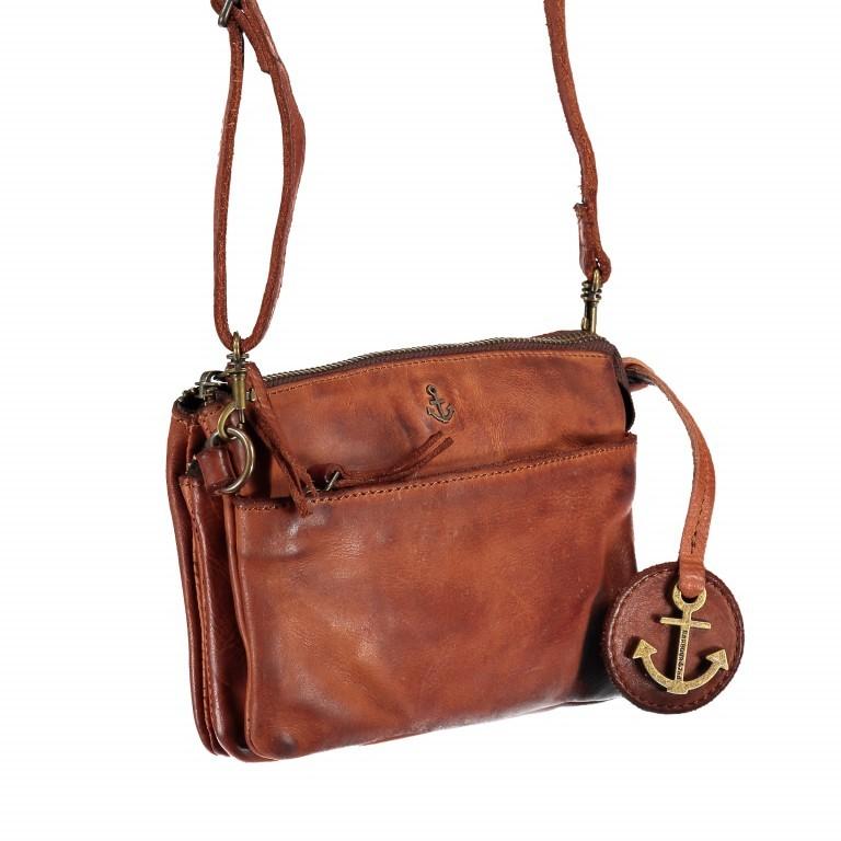 Umhängetasche / Gürteltasche Anchor-Love Perla B3.7589 Charming Cognac, Farbe: cognac, Marke: Harbour 2nd, EAN: 4046478036260, Abmessungen in cm: 20.0x13.0x7.5, Bild 2 von 8