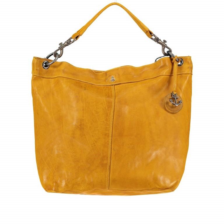 Beuteltasche Anchor-Love Vicky B3.7834 Oriental Mustard, Farbe: gelb, Marke: Harbour 2nd, EAN: 4046478036499, Abmessungen in cm: 46.0x41.0x14.5, Bild 1 von 8