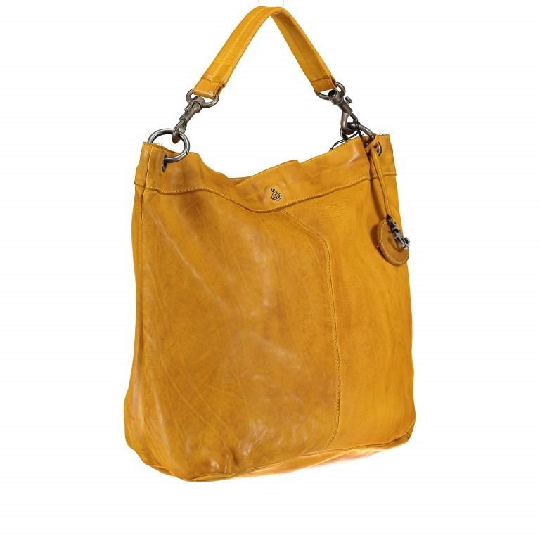 Beuteltasche Anchor-Love Vicky B3.7834 Oriental Mustard, Farbe: gelb, Marke: Harbour 2nd, EAN: 4046478036499, Abmessungen in cm: 46.0x41.0x14.5, Bild 2 von 8