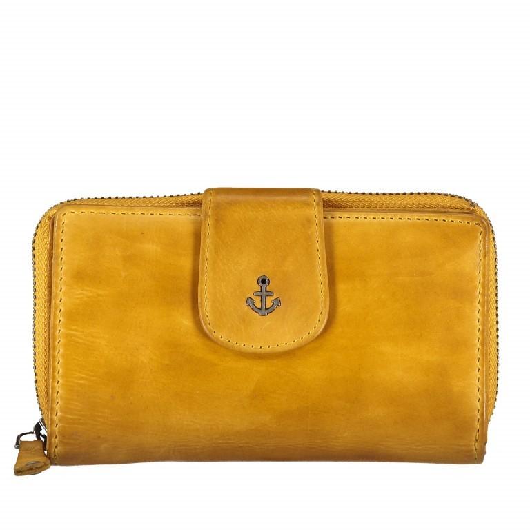 Geldbörse Anchor-Love Linn B3.0646 Oriental Mustard, Farbe: gelb, Marke: Harbour 2nd, EAN: 4046478035553, Abmessungen in cm: 16.0x10.0x3.0, Bild 1 von 4