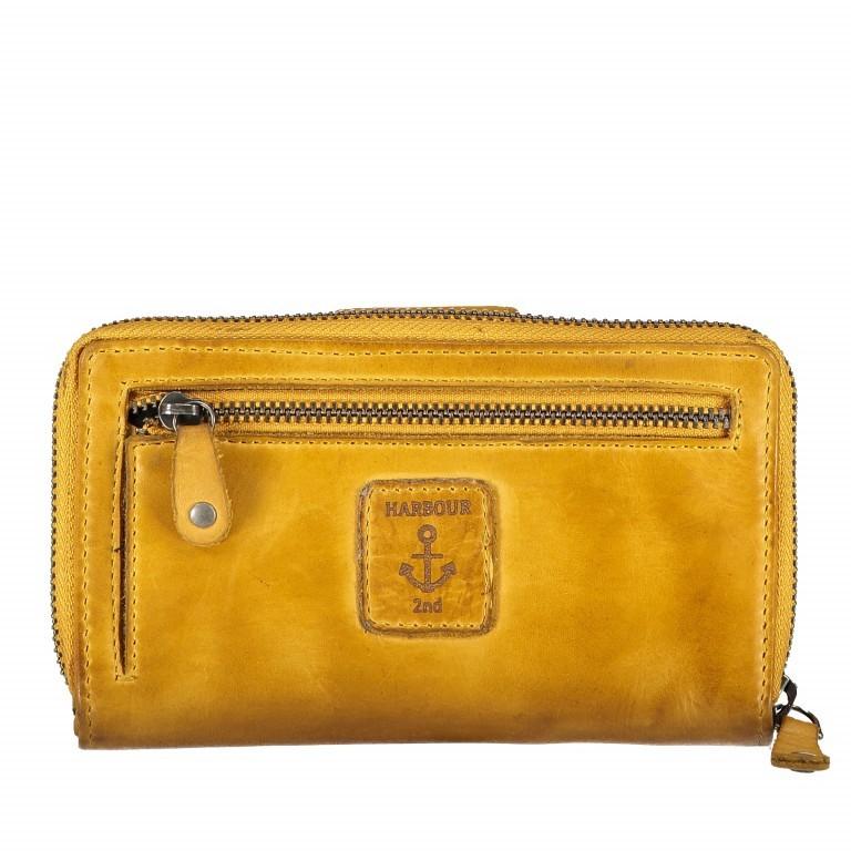 Geldbörse Anchor-Love Linn B3.0646 Oriental Mustard, Farbe: gelb, Marke: Harbour 2nd, EAN: 4046478035553, Abmessungen in cm: 16.0x10.0x3.0, Bild 2 von 4