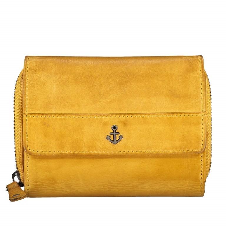 Geldbörse Anchor-Love Vivika B3.0882 Oriental Mustard, Farbe: gelb, Marke: Harbour 2nd, EAN: 4046478035638, Abmessungen in cm: 14.0x11.0x4.0, Bild 1 von 4