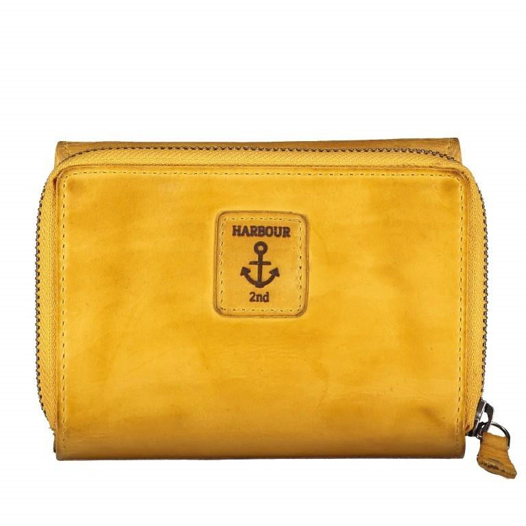 Geldbörse Anchor-Love Vivika B3.0882 Oriental Mustard, Farbe: gelb, Marke: Harbour 2nd, EAN: 4046478035638, Abmessungen in cm: 14.0x11.0x4.0, Bild 2 von 4