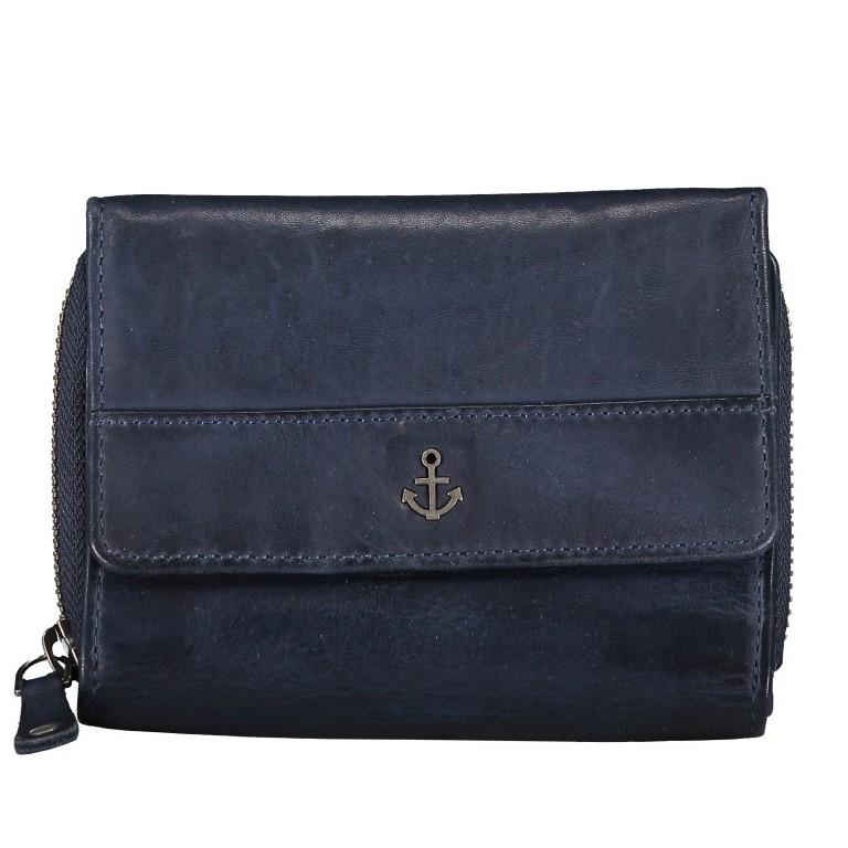 Geldbörse Anchor-Love Vivika B3.0882 Midnight Navy, Farbe: blau/petrol, Marke: Harbour 2nd, EAN: 4046478035645, Abmessungen in cm: 14.0x11.0x4.0, Bild 1 von 4