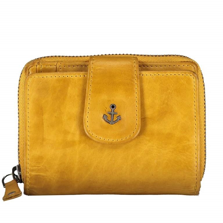 Geldbörse Anchor-Love Isidora B3.1543 Oriental Mustard, Farbe: gelb, Marke: Harbour 2nd, EAN: 4046478035751, Abmessungen in cm: 12.0x9.5x3.0, Bild 1 von 6