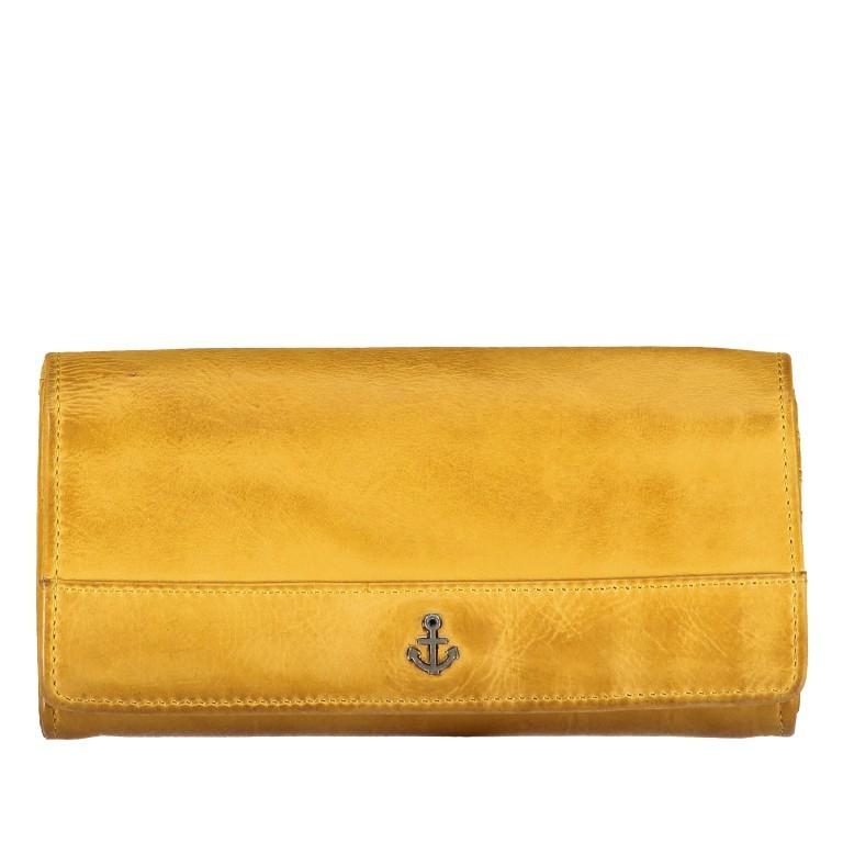Geldbörse Anchor-Love Marina B3.9856 Oriental Mustard, Farbe: gelb, Marke: Harbour 2nd, EAN: 4046478036604, Bild 1 von 4