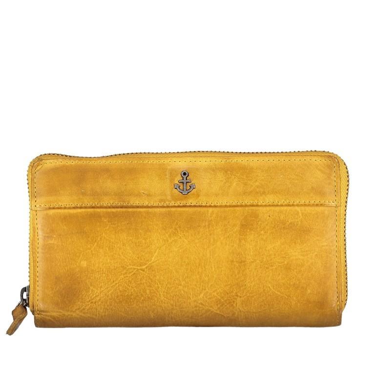 Geldbörse Anchor-Love Atlantica B3.9858 Oriental Mustard, Farbe: gelb, Marke: Harbour 2nd, EAN: 4046478036642, Bild 1 von 4