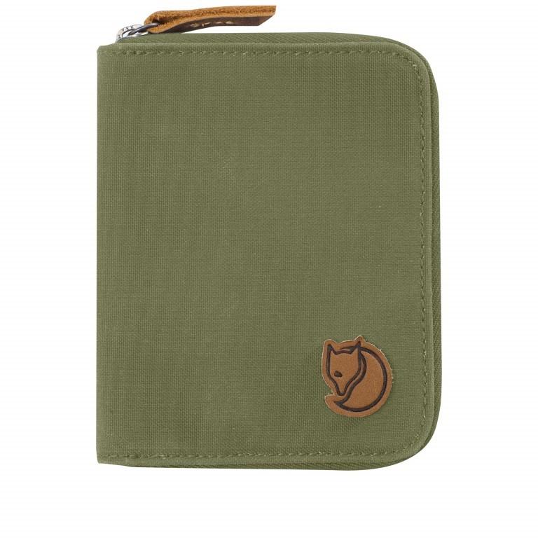 Geldbörse Zip Wallet Green, Farbe: taupe/khaki, Marke: Fjällräven, EAN: 7323450022440, Abmessungen in cm: 12.0x9.5x2.0, Bild 1 von 3