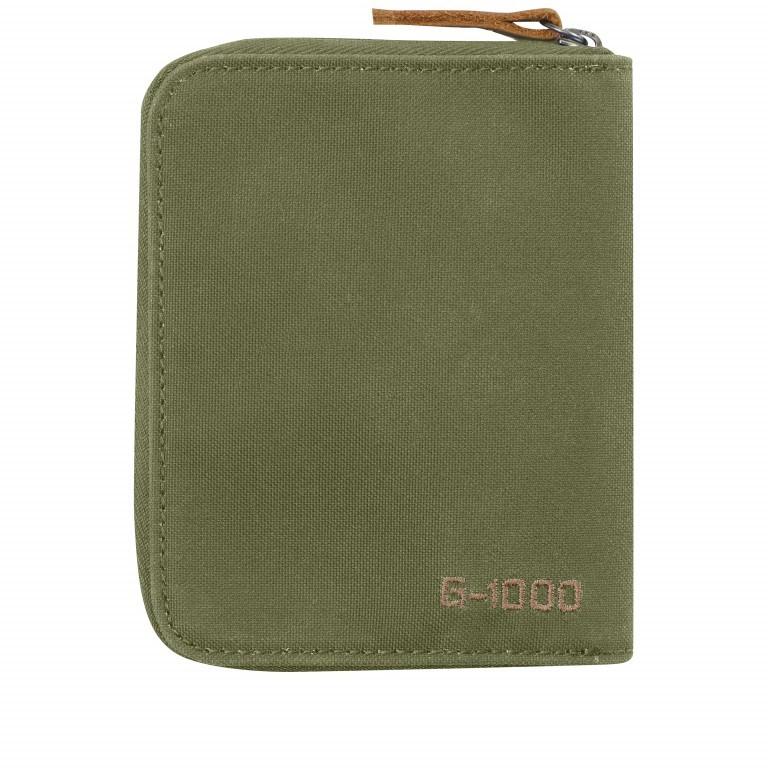 Geldbörse Zip Wallet Green, Farbe: taupe/khaki, Marke: Fjällräven, EAN: 7323450022440, Abmessungen in cm: 12.0x9.5x2.0, Bild 2 von 3