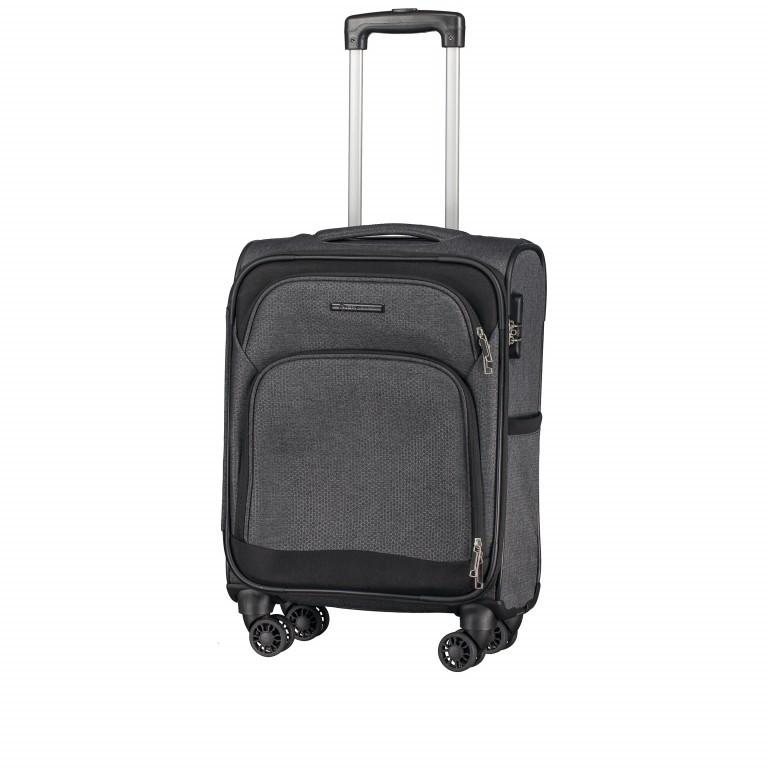 Koffer T1 55 cm Grey Bee, Farbe: grau, Marke: Franky, EAN: 4251672722929, Abmessungen in cm: 36.0x55.0x24.0, Bild 2 von 6