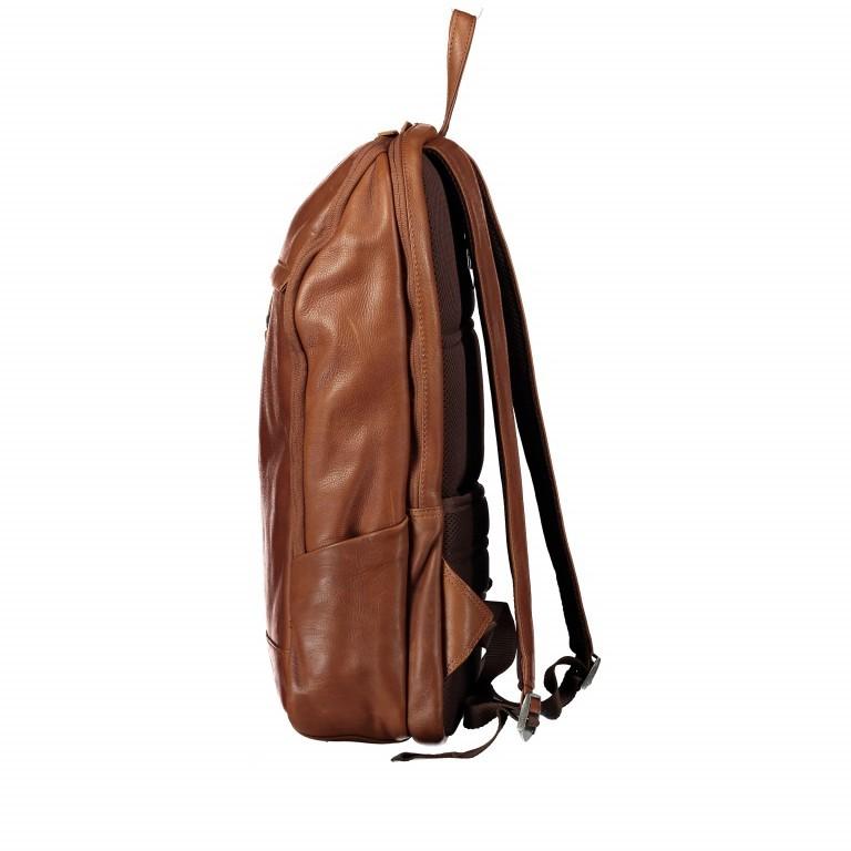 Rucksack Bristol mit Laptopfach 15 Zoll Schwarz, Farbe: schwarz, Marke: Hausfelder, EAN: 4251672709814, Abmessungen in cm: 30.0x44.0x13.0, Bild 3 von 6