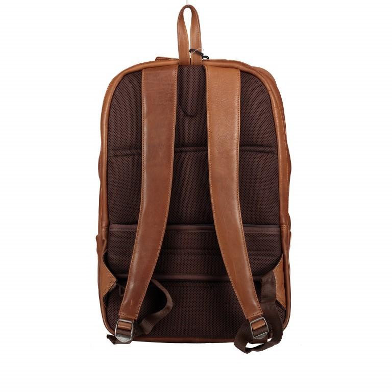 Rucksack Bristol mit Laptopfach 15 Zoll Schwarz, Farbe: schwarz, Marke: Hausfelder, EAN: 4251672709814, Abmessungen in cm: 30.0x44.0x13.0, Bild 4 von 6