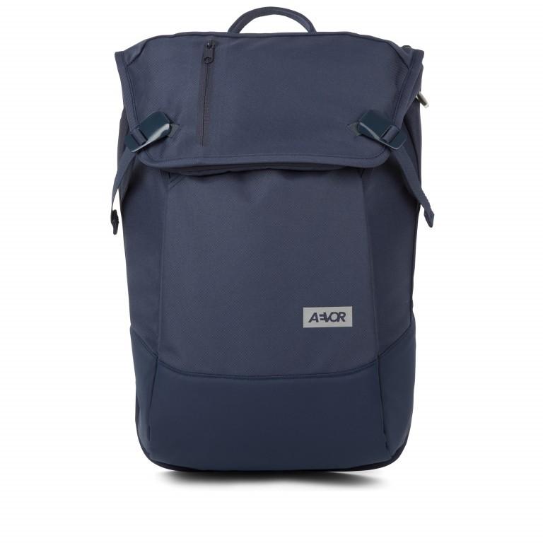 Rucksack Daypack Solid, Farbe: schwarz, blau/petrol, grün/oliv, orange, Marke: Aevor, Abmessungen in cm: 34.0x48.0x14.0, Bild 1 von 1