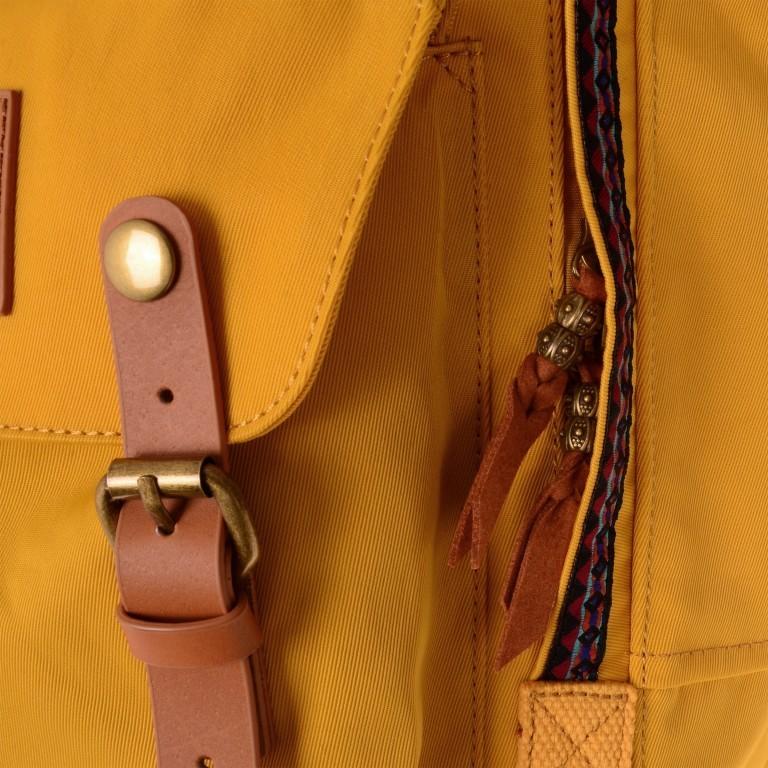 Rucksack Macaroon Volumen 16 Liter, Farbe: schwarz, grau, blau/petrol, braun, taupe/khaki, grün/oliv, rot/weinrot, flieder/lila, rosa/pink, orange, gelb, beige, Marke: Doughnut, Abmessungen in cm: 28.0x38.0x11.0, Bild 6 von 8