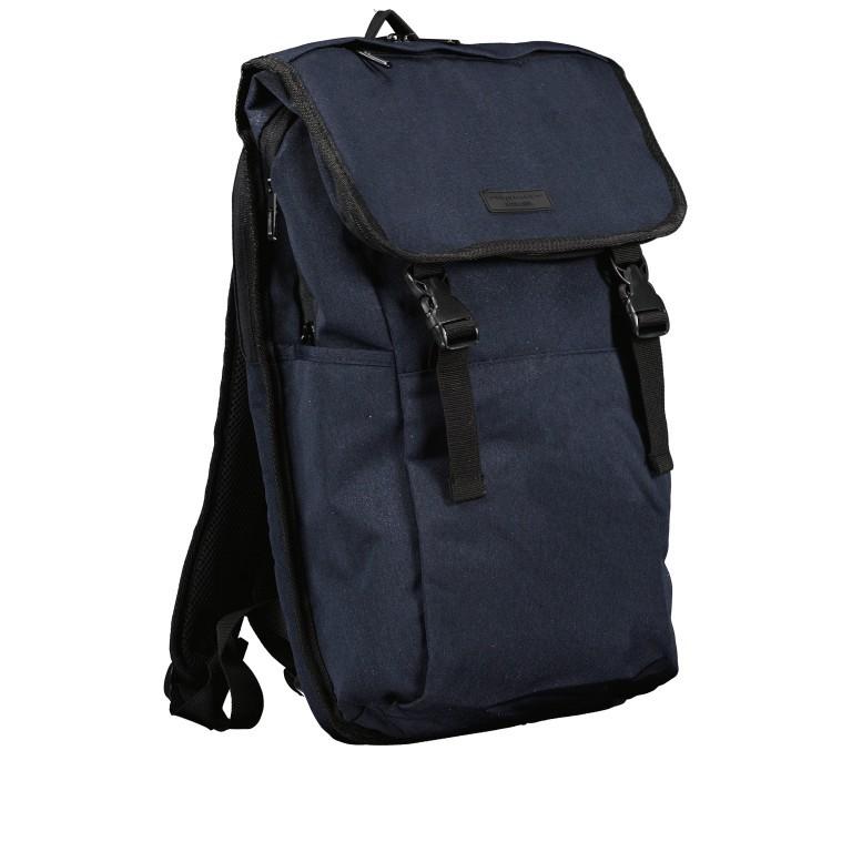 Rucksack RS46 mit Laptopfach 15 Zoll, Farbe: anthrazit, grau, blau/petrol, Marke: Franky, Abmessungen in cm: 27.0x46.0x12.0, Bild 2 von 6