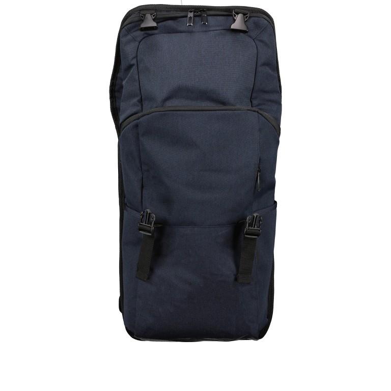 Rucksack RS46 mit Laptopfach 15 Zoll, Farbe: anthrazit, grau, blau/petrol, Marke: Franky, Abmessungen in cm: 27.0x46.0x12.0, Bild 6 von 6
