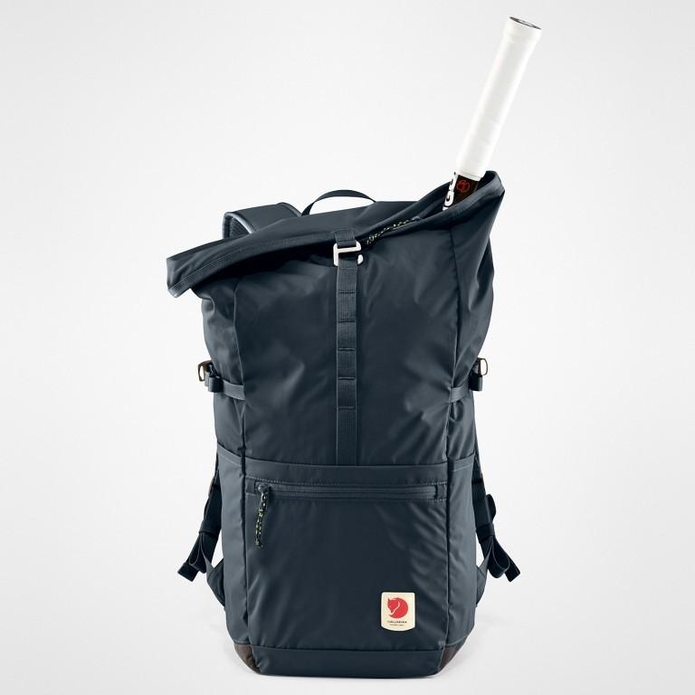 Rucksack High Coast Foldsack Volumen 24 Liter, Farbe: schwarz, anthrazit, grau, blau/petrol, taupe/khaki, grün/oliv, orange, gelb, Marke: Fjällräven, Abmessungen in cm: 26.0x45.0x20.0, Bild 10 von 10