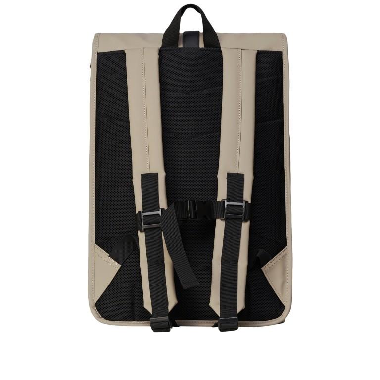 Rucksack Rolltop, Farbe: schwarz, anthrazit, grau, blau/petrol, taupe/khaki, grün/oliv, Marke: Rains, Bild 2 von 5