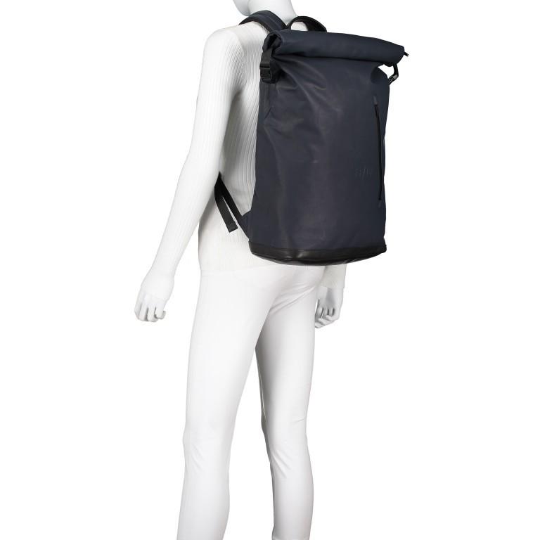 Rucksack Japan Matsuyama, Farbe: schwarz, grau, blau/petrol, taupe/khaki, grün/oliv, Marke: Aunts & Uncles, Abmessungen in cm: 29.0x44.0x13.0, Bild 5 von 11