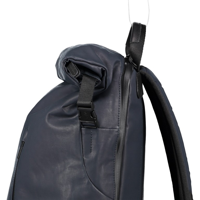 Rucksack Japan Matsuyama, Farbe: schwarz, grau, blau/petrol, taupe/khaki, grün/oliv, Marke: Aunts & Uncles, Abmessungen in cm: 29.0x44.0x13.0, Bild 10 von 11