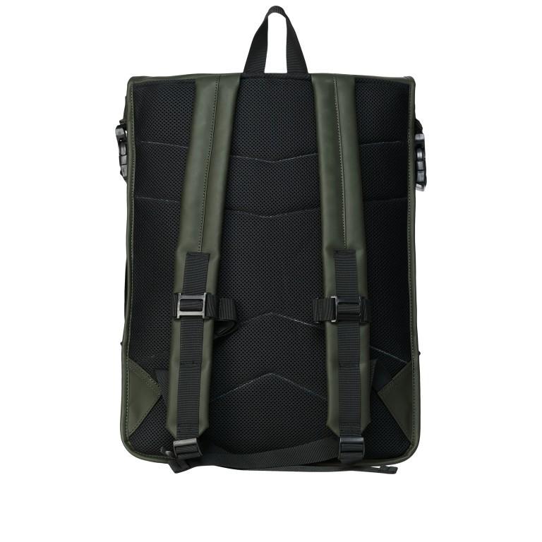 Rucksack Buckle Rolltop, Farbe: schwarz, grau, taupe/khaki, grün/oliv, weiß, Marke: Rains, Abmessungen in cm: 34.0x47.0x12.0, Bild 2 von 5
