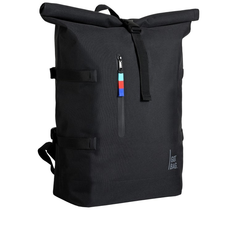 Got Bag Rolltop Backpack 01AV619., Farbe: schwarz, blau/petrol, grün/oliv, beige, Marke: Got Bag, Bild 2 von 11