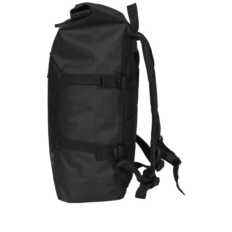 Got Bag Rolltop Backpack 01AV619., Farbe: schwarz, blau/petrol, grün/oliv, beige, Marke: Got Bag, Bild 3 von 11